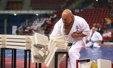 Europos kiokušin karatė čempionato parodomoji programa