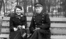 A. Dumčiaus tėvai: Konstancija Dumčiuvienė ir Stasys Dumčius