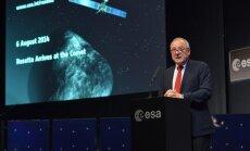 Zondo Rosetta atvykimo prie Čuriumovo-Gerasimenkos kometos iškilmės