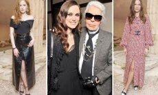 """""""Chanel"""" naujos kolekcijos pristatyme netrūko stilingų moterų"""