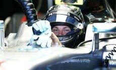Belgijos lenktynėse pirmasis startuos N. Rosbergas