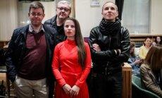 Lietuvos delegacija stebi pirmąjį Eurovizijos pusfinalį