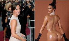 Pippa Middleton ir Kim Kardashian