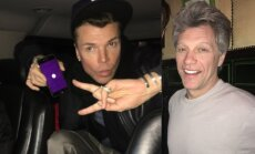 Juozas Statkevičius ir Jonas Bon Jovi susitiko viename Niujorko restorane