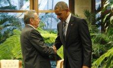 Raulis Castro, Barackas Obama