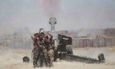 """Irako pajėgos atakuoja """"Islamo valstybę"""""""