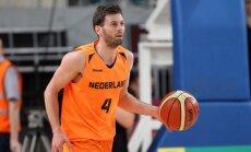 Tarpautinis krepšinio turnyras. Lietuva - Olandija
