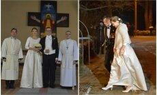 Estijos prezidentas vedė savo išrinktąją