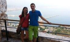 Ieva ir Ramūnas Petrauskai medaus mėnesį leido Turkijoje