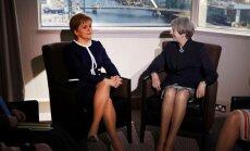 Th. May ir N. Sturgeon susitikimas