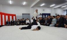Aikido pasaulinio centro vadovas Moriteru Ueshiba