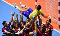 Irano futbolininkai po pergalės pagerbė karjerą baigiantį oponentą Falcao