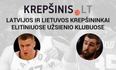 Lietuvos ir Latvijos krepšininkai elitiniuose užsienio klubuose