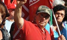 Italijoje – visuotinis streikas, protestuojant prieš diržų veržimą
