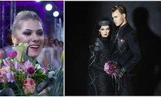 Netradicinės A. Beliakaitės vestuvinės suknelės