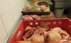 Aptiko nelegalų cechą, iš kurio mėsa keliavo į turgų