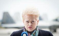 D. Grybauskaitė: turime didelių problemų dėl emocinės visuomenės būsenos