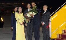 Barackas Obama atvyko į Vietnamą