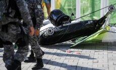 Rio de Žaneire nukritusi kamera sužeidė 7 žmones
