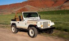 Devintojo dešimtmečio Jeep Wrangler