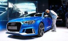 Audi RS3 quattro sedanas