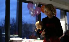 Indrės Kavaliauskaitės-Morkūnienės ir Jogailos Morkūno dukters pirmasis gimtadienis