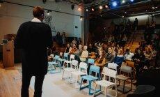 Mentorių susitikimo Vilniuje akimirkos