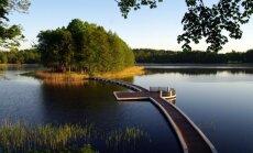 Meilės sala Ilgio ežere
