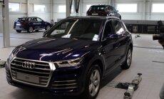 Audi superautomobiliai stovės Kaune