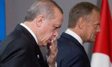 R. T. Erdoganas ir D. Tuskas