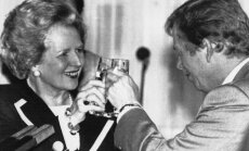 Margaret Thatcher  ir Vaclavas Havelas