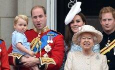 Princas George Karalienės gimtadienio iškilmėse