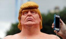 Donaldo Trumpo statula