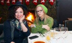 Daiva Tamošiūnaitė su dukra Adele