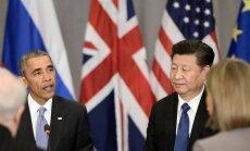 Barackas Obama, Xi Jinpingas