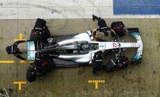 F-1 Mercedes naujas automobilis