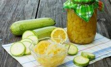 Cukinija kaip ananasai