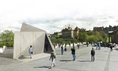 Vilnius pavilion at Edinburgh festival