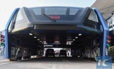Kinai išbando futuristinį autobusą