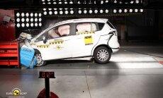 Euro NCAP bandymai: Ford B-Max