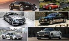 Brangiausi 2014 m. automobiliai