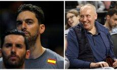 Rudy Fernandezas, Pau Gasolis, Rimas Kurtinaitis (AFP-Scanpix, DELFI nuotr.)