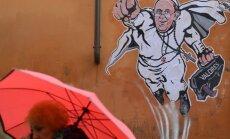 Popiežius Pranciškus – supermenas