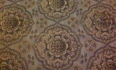 Vėžlys ant kilimo