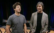 Larry Page'as, Sergejus Brinas