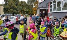 """Vilniaus """"Atžalyno"""" mokyklos mokiniai dieną leido judriai"""