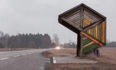Iš ciklo Sovietinės autobusų stotelės. Estija