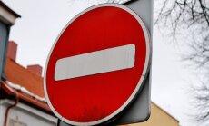 Draudžiamas eismas magistraliniame kelyje Vilnius-Varėna-Gardinas