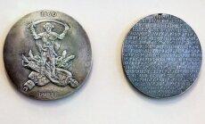 Medalis mušiui prie Durbės pažymėti