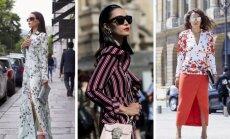 Paryžiaus aukštosios mados savaitės gatvės stilius